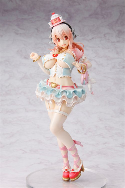 Nitro Plus - 1/7 Super Sonico 10th Anniversary Figure Birthday Party Ver. PVC Figure