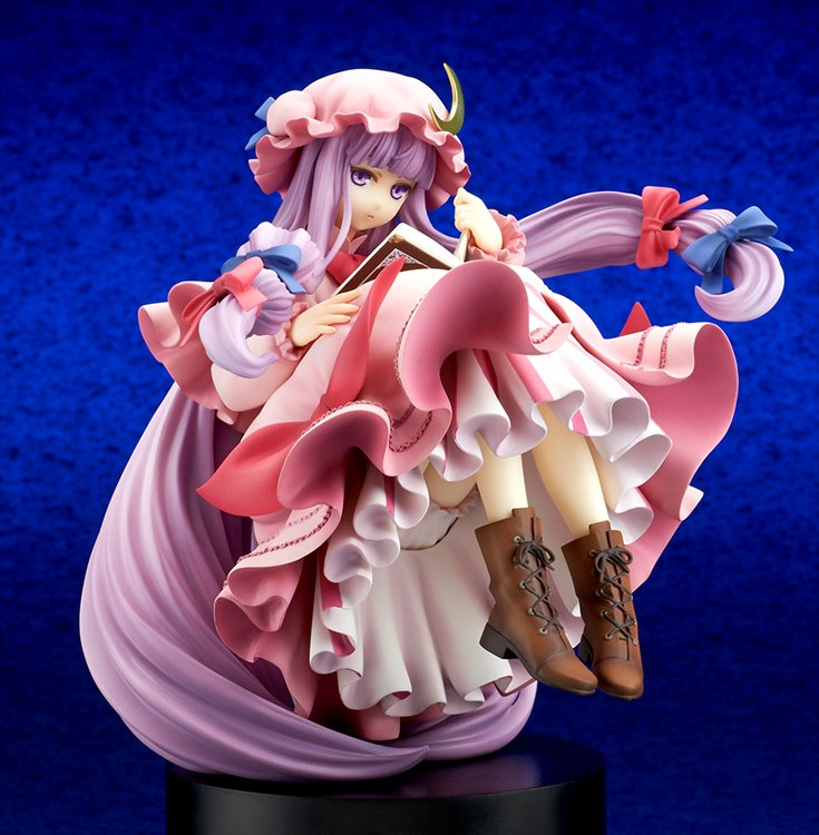 Touhou Project - 1/8 The Unmoving Great Library Patchouli Knowledge PVC Figure