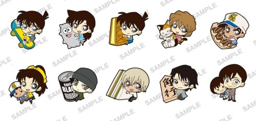Detective Conan - PitaColle Rubber Strap Single BLIND BOX