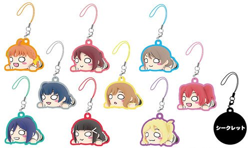 Love Live Sunshine - Nesoberi Metal Charm Single BLIND BOX