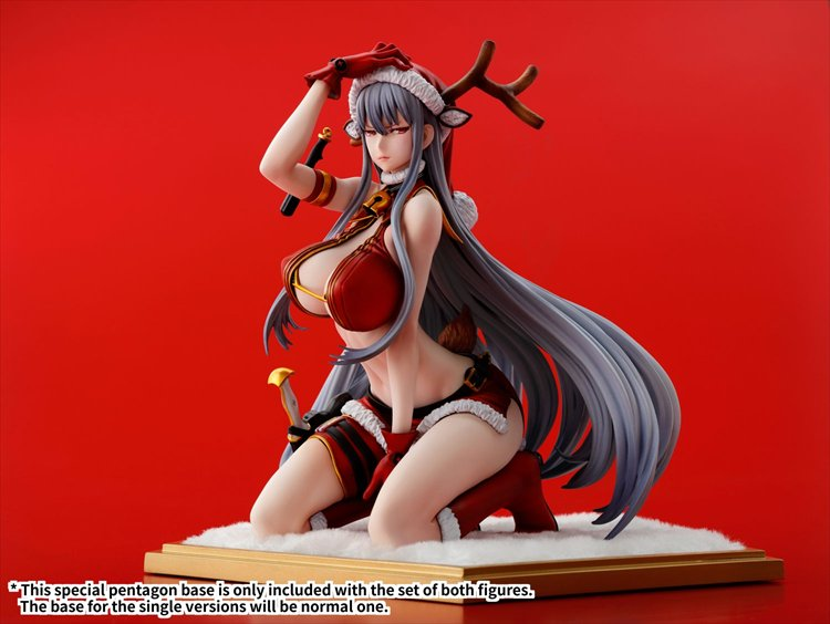 Valkyria Chronicles DUEL - 1/7 Selvaria Bles-Xmas Party Ver. PVC Figure