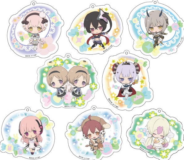 Magicial Girl Raising Project - Acrylic Collection Keychain SINGLE BLIND BOX