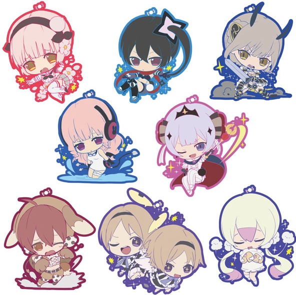 Magicial Girl Raising Project - Rubber Strap Collection SINGLE BLIND BOX