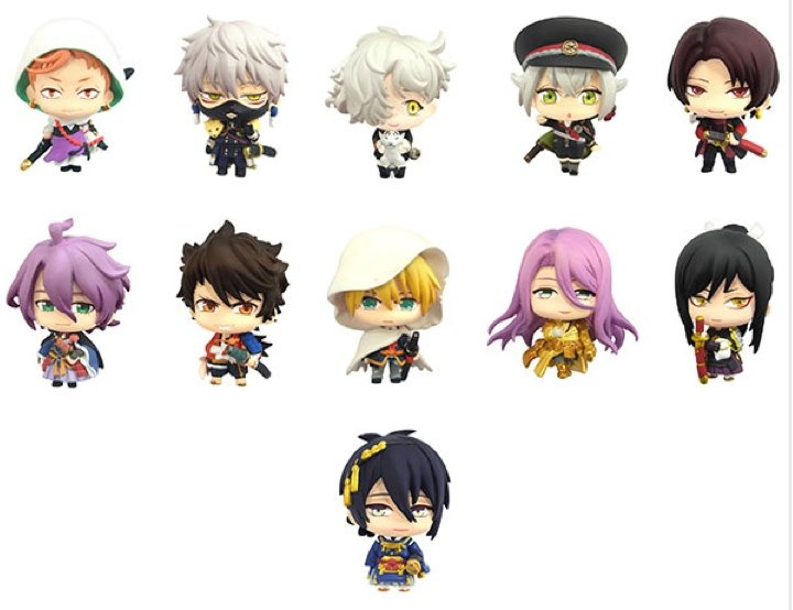 Touken Ranbu - Color Colle SINGLE BLIND BOX