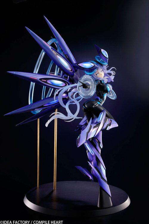 Megadimension Neptunia VII - 1/7 Purple Heart Next Purple Ver. PVC Figure