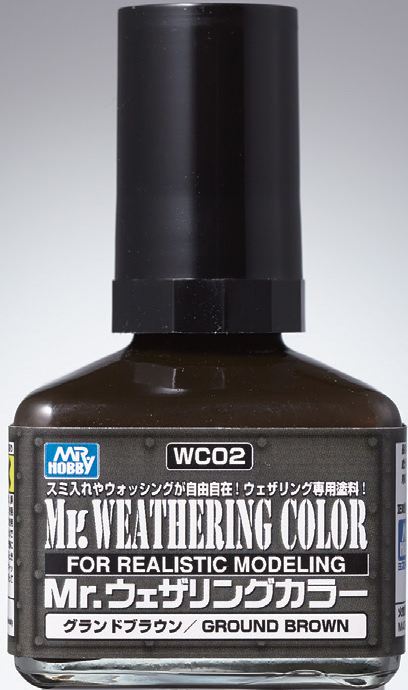 Mr Hobby - Mr Weathering Color Ground Brown WC02 40ml