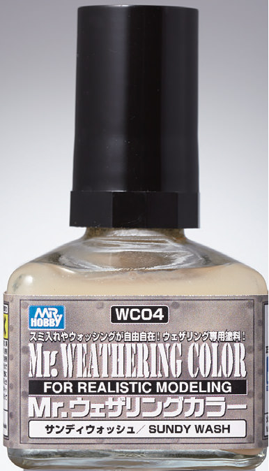 Mr Hobby - Mr Weathering Color Sumdy Wash WC04 40ml