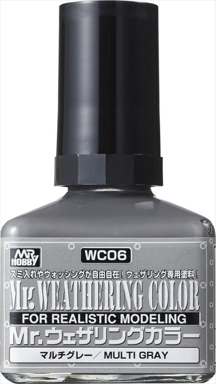 Mr Hobby - Mr Weathering Color Multi Gray WC06 40ml