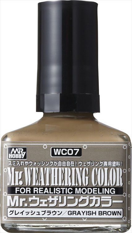 Mr Hobby - Mr Weathering Color Grayish Brown WC07 40ml