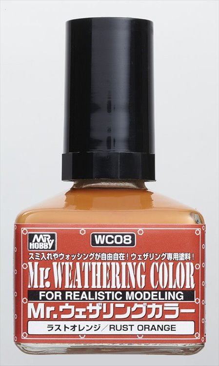 Mr Hobby - Mr Weathering Color Rust Orange WC08 40ml