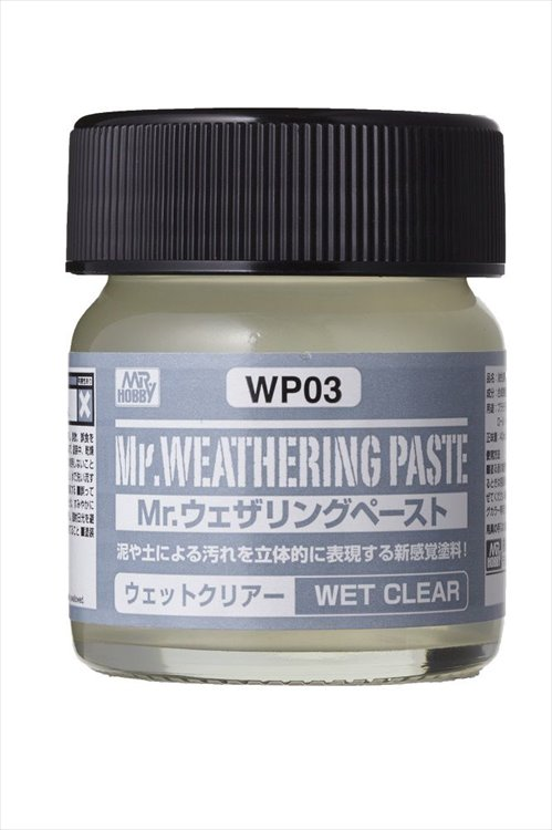 Mr Hobby - Mr Weathing Pastel Wet Clear WP03 40ml