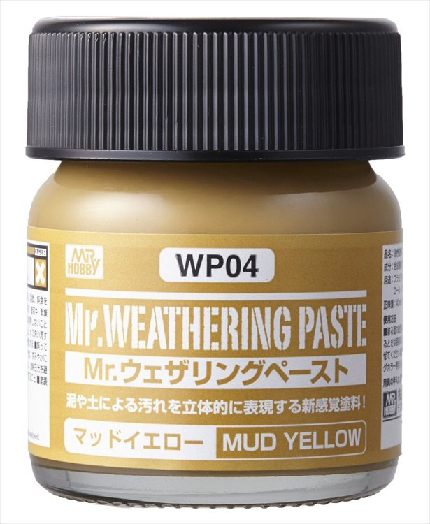 Mr Hobby - Mr Weathing Pastel Mud Yellow WP04 40ml