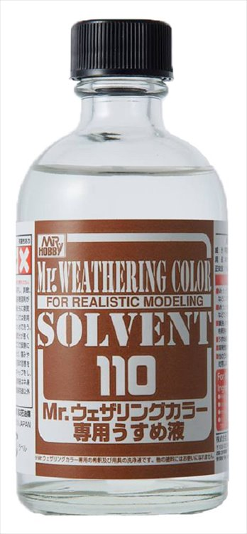 Mr Hobby - Mr Weathering Color Solvent 110 ml