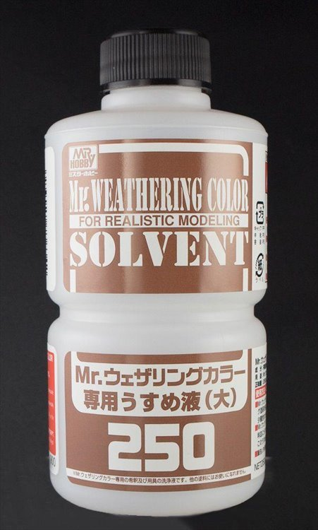 Mr Hobby - Mr Weathering Color Solvent 250 ml