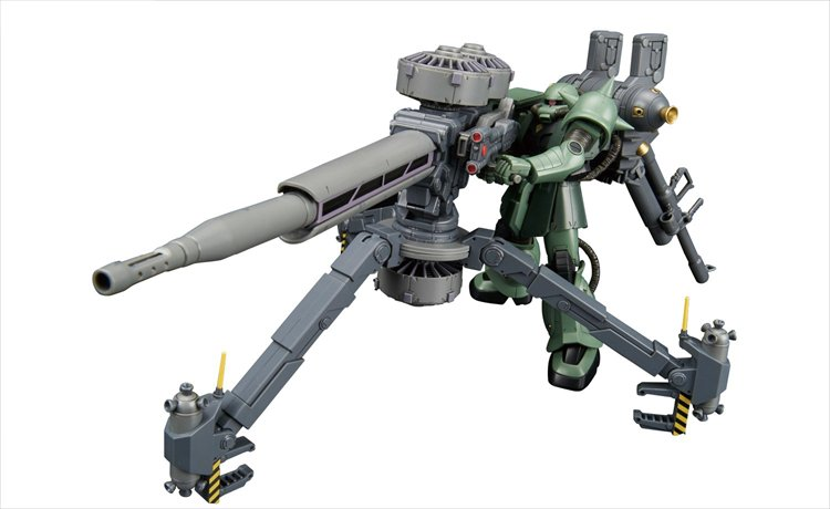 Gundam Thunderbolt - 1/144 Zaku and Big Gun Anime Color HGTB