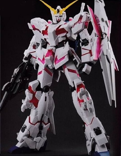 Gundam Mobile Suit Unicorn RE - 1/48 RX-0 Unicorn Gundam Destroyer Mode Ver. Model Kit