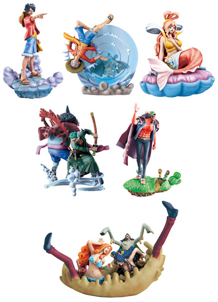 One Piece - Fish Man Island Log Box Set of 6