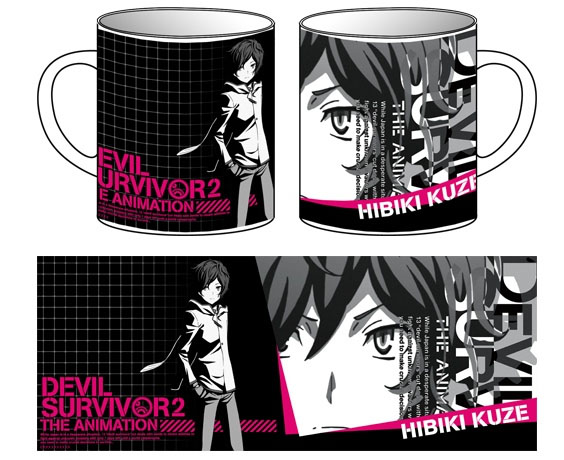 Devil Survivor 2 the Animation - Hibiki Kuze Mug Cup