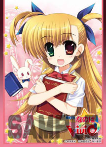 Trading Card Sleeve - Character Sleeve Collection - Magical Girl Nanoha Vivid - Vivio