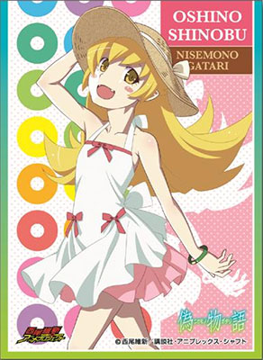 Chara Sleeve Collection No.160 - Nisemonogatari - Shinobu Oshino Pack