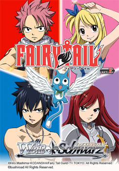 Fairy Tail- Weis Schwarz Booster Pack English Version