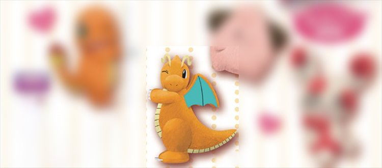 Pokemon - Small Plush Dragonite
