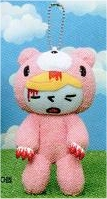 Gloomy Bear - Petey Plush with Gloomy Costume (Pink with Blood)