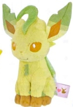 Pokemon - I Love Eevee Leafeon 14cm Plush