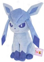 Pokemon - I Love Eevee Glaceon 14cm Plush