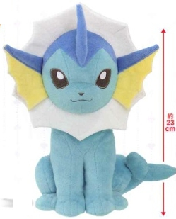 Pokemon - Vaporeon I love Eevee 23cm Plush