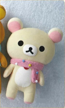 Rilakkuma - Bon Bon Mafura Plush Doll White Bear Plush