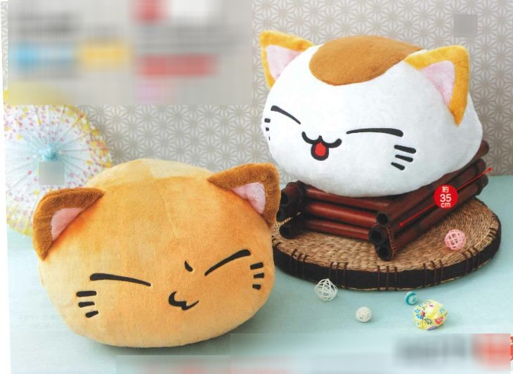 Nemu Neko- 5th Anniversary Plush Set of 2