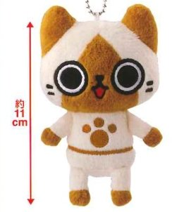 Monster Hunter - Character Plush Cat B