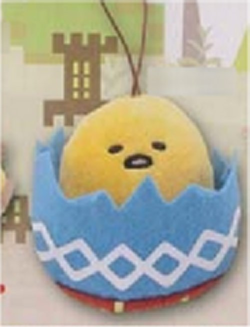Gudetama Keshigomu - Little Plush B