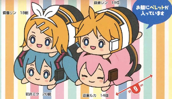 Vocaloid - Character Plush Set of 4
