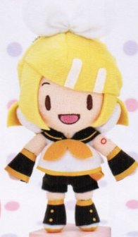 Vocaloid - Kagamine Rin Character Plush