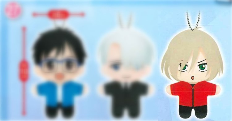 Yuri on Ice - Yuri Pilsetsky Plush
