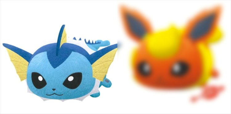 Pokemon Sun and Moon - Vaporeon Tsum Tsum Style Large Plush