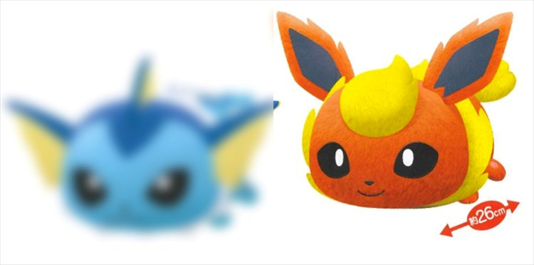 Pokemon Sun and Moon - Flareon Tsum Tsum Style Large Plush