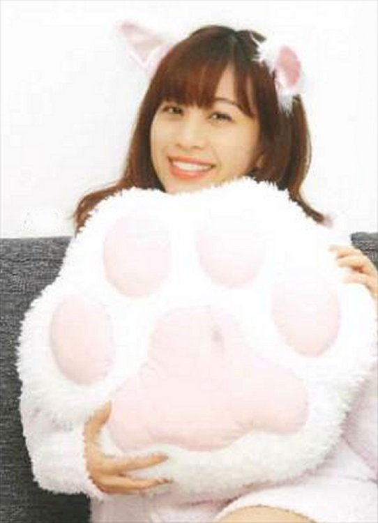 Neko - White Ver. Large Soft Cat Paw