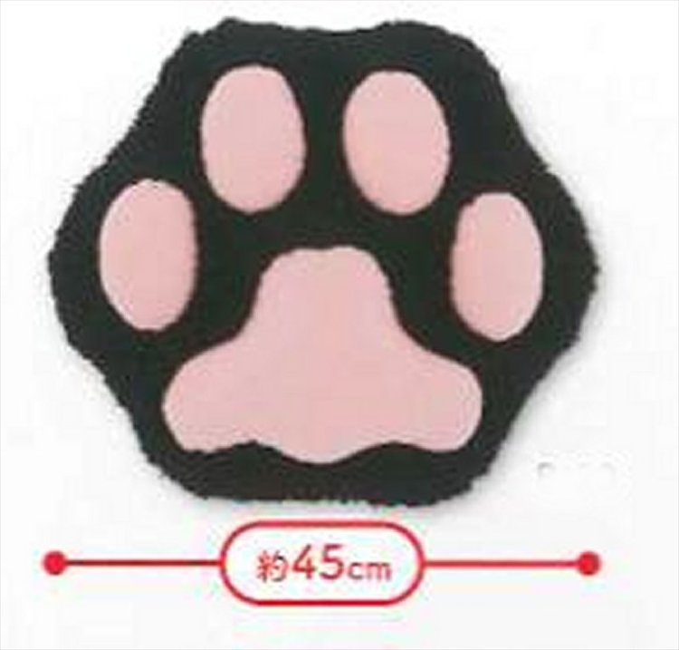 Neko - Black Ver. Large Soft Cat Paw