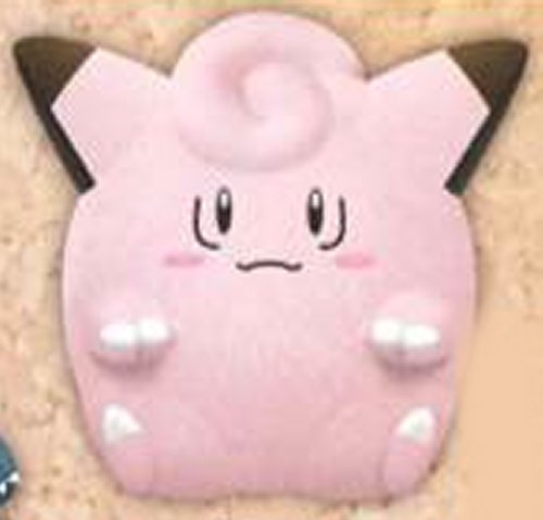 Pokemon Sun and Moon - Clefairy Soft Medium Plush