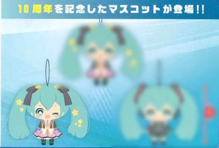Vocaloid - Miku 10th Anniversary Small Plush A