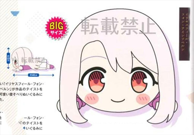 Todays Menu for Emiya Family - illya Nesoberi Plush