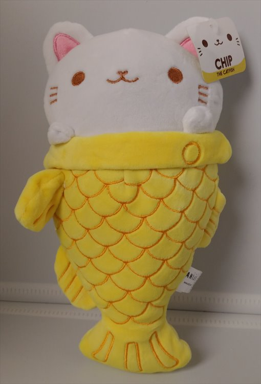 Aniji Animal - Catfish Chip Plush