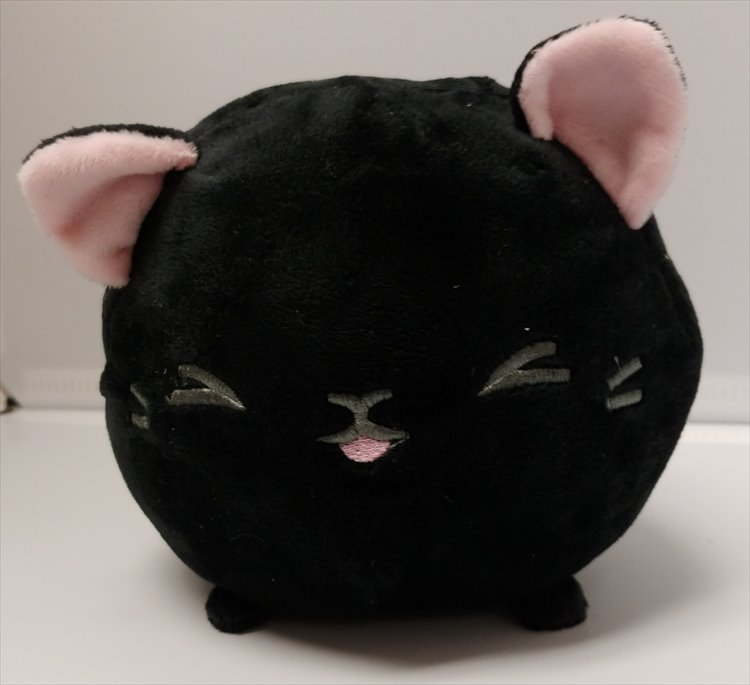 Aniji Animal - Black Medium Size Cat Plush