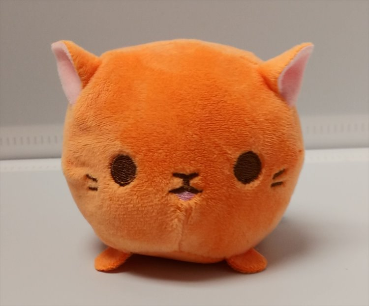 Aniji Animal - Orange Small Size Cat Plush