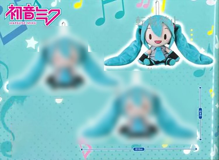 Vocaloid - Hatsune Miku Small Plush B