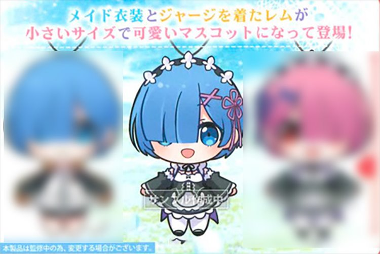 Re:Zero - Rem Small Plush B