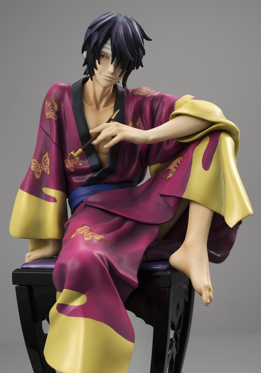 Gintama - Takasugi Shinsuke Tsuya Version GEM Series PVC Figure